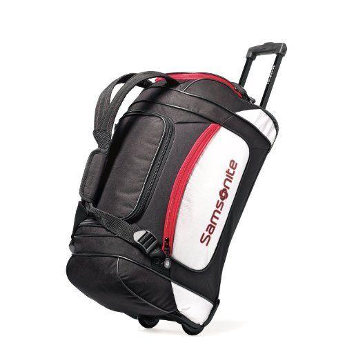 Samsonite Luggage Utility 22 Inch Duffel Backpack, Black/Grey, One Size Samsonite. $44.52. Save 63% Off!