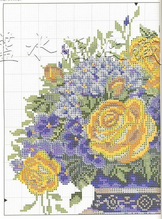 Yellow Roses  Violets (Pg 2 of 5)