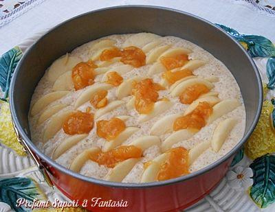 Torta di mele con farina integrale senza burro