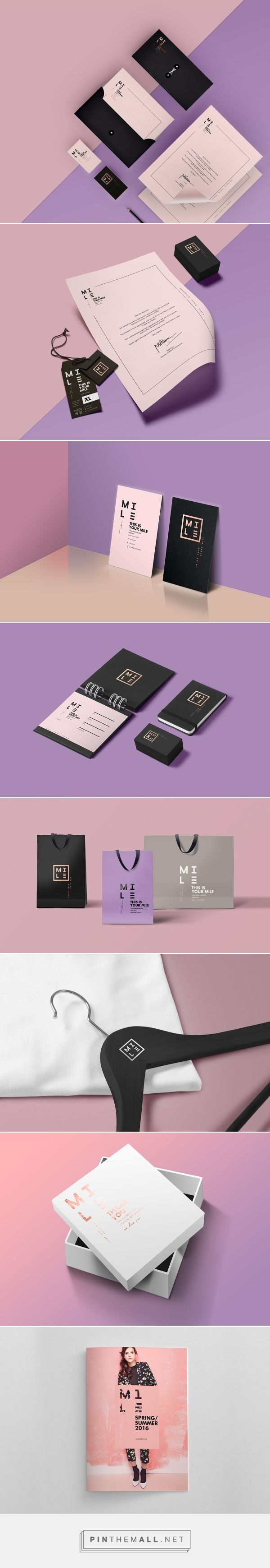 MILE -  Fashion Brand Identity
