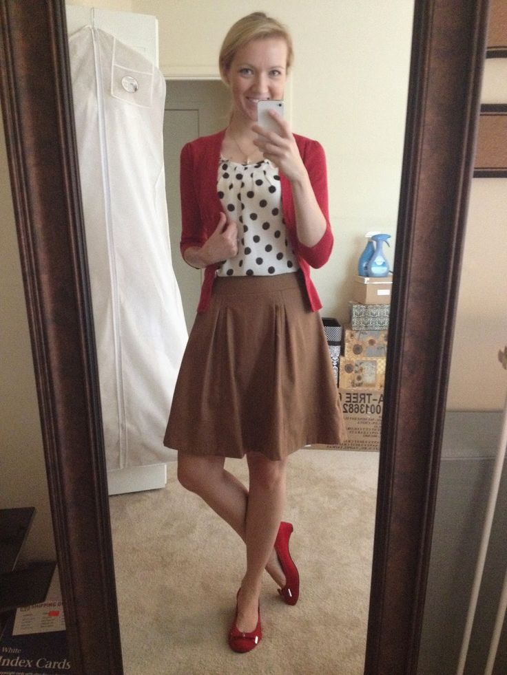 A Little Bit of WoWe : Teacher Style: Skirt Inspiration (13 Looks)