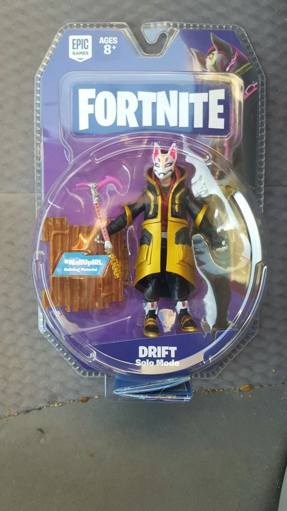 Fortnite Drift Solo Mode Action Figure In Hand Jazwares Epic Games
