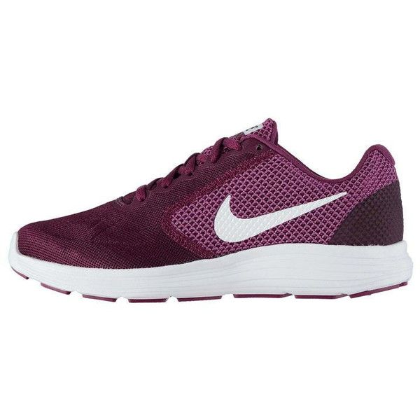 Nike Revolution 3 Ladies Trainers (3.015 RUB) ❤ liked on Polyvore featuring shoes, sneakers, nike sneakers, nike trainers, nike footwear, nike shoes and nike