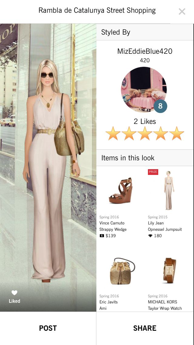 Rambla de Catalunya Street Shopping 5 Star look! ⭐️⭐️⭐️⭐️⭐️