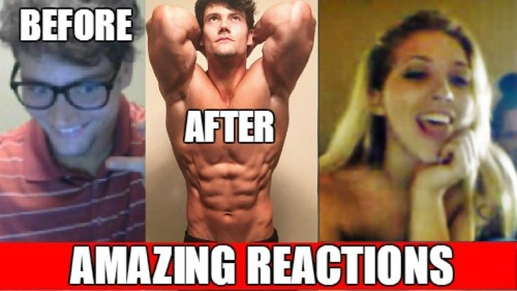 Nerd to Aesthetic on Omegle (Girls' Reactions) #bodybuilding #fitness #gym #fitfam #workout #muscle #health #fit #motivation #abs #fitspo