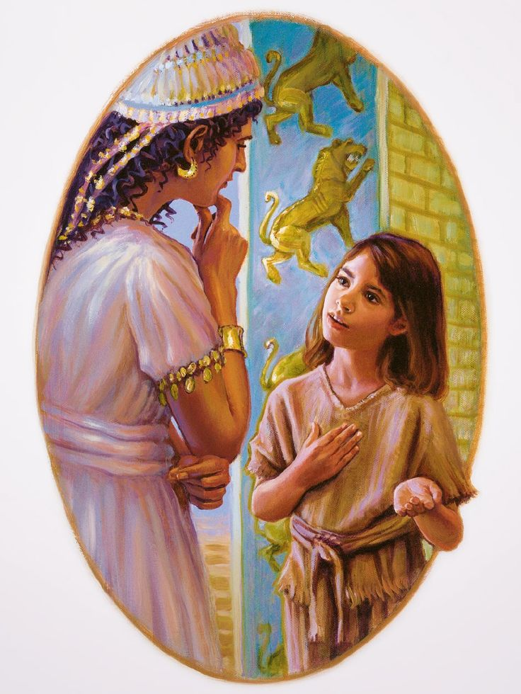 Children Who Make God Happy - Well, the little girl said: 'If only Naaman would go to Jehovah's prophet in Israel, in that case, Naaman would be healed from his leprosy.' Naaman listened to the girl, and he went to Jehovah's prophet. When he did what the prophet told him to do, he was healed. This caused Naaman to become a worshiper of the true God.—2 Kings 5:1-15.