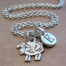 Sheep Necklace Etsy