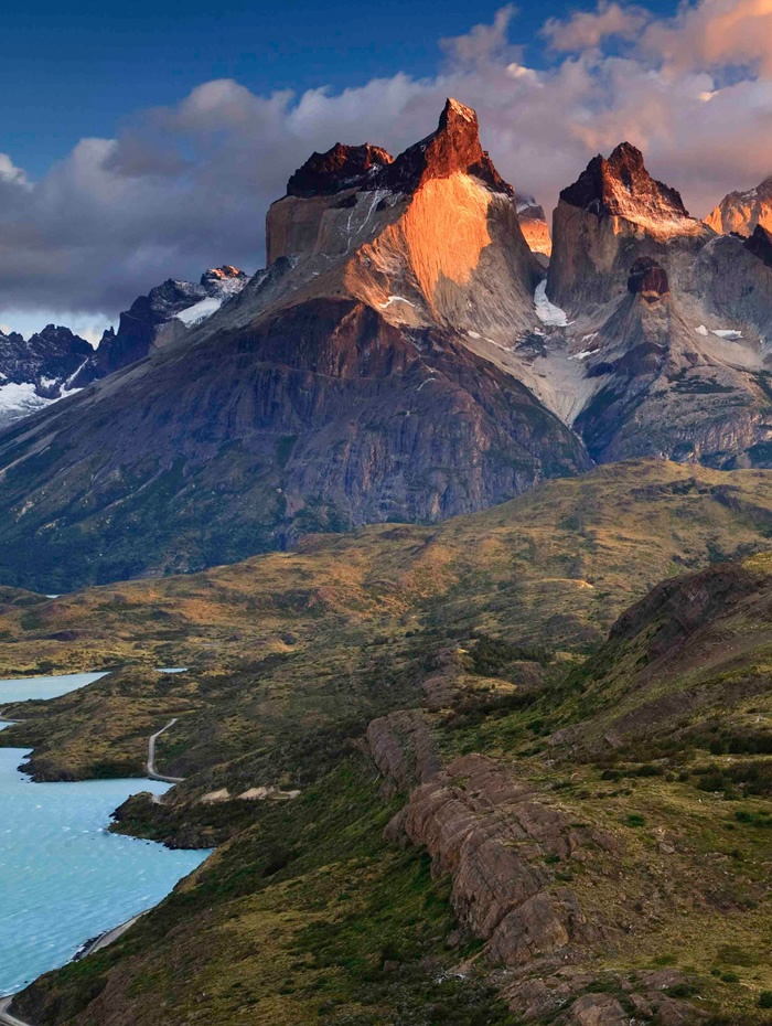 Los Cuernos, Torres del Paine National Park - Patagonia, Chile. Part of our Paine Circuit