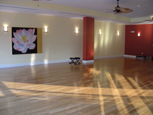 Home Yoga Studio Design Ideas home based yoga studio ideas google search home pilatesmovement space pinterest studios home and home yoga room Studio Space Inpsriation We Particularly Liked The Light Fixtures Home Yoga