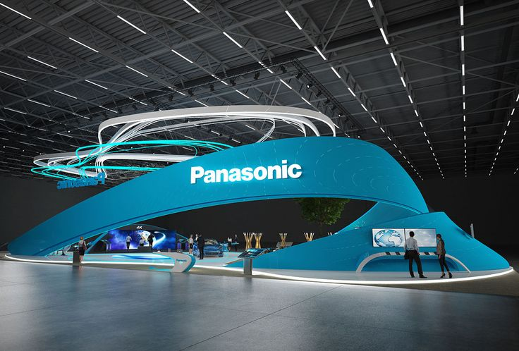 Panasonic exhibition stand design | | GM Stand Design