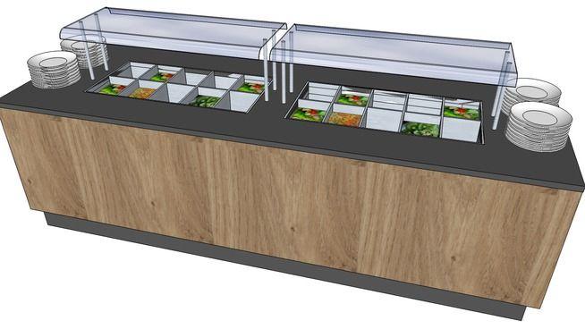 saladebuffet - 3D Warehouse