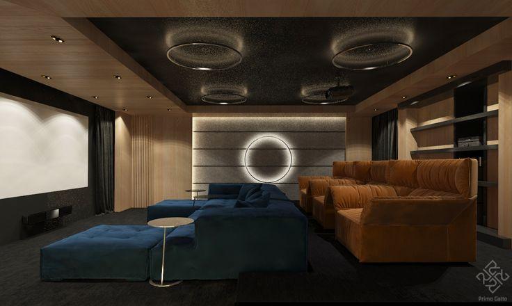 Свой кинотеатр в доме – это всегда приятно) Руководитель: #irina_shevtsova Архитектор: #dmitriy_rasoshenko