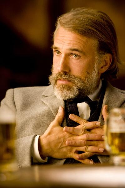 Christolph Waltz as Dr. Schultz in Django Unchained