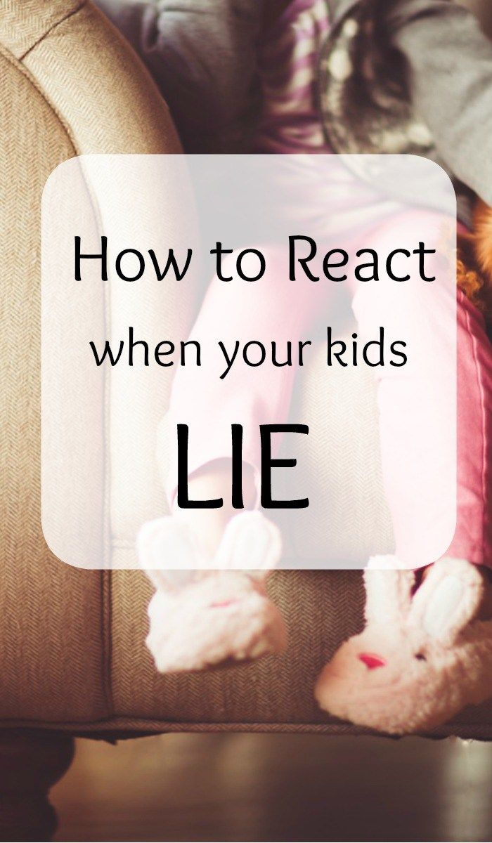 When kids lie it's difficult to know how to react. Respond appropriately to lying with these simple tips that will reestablish trust.