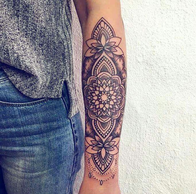 Mandala tatoo