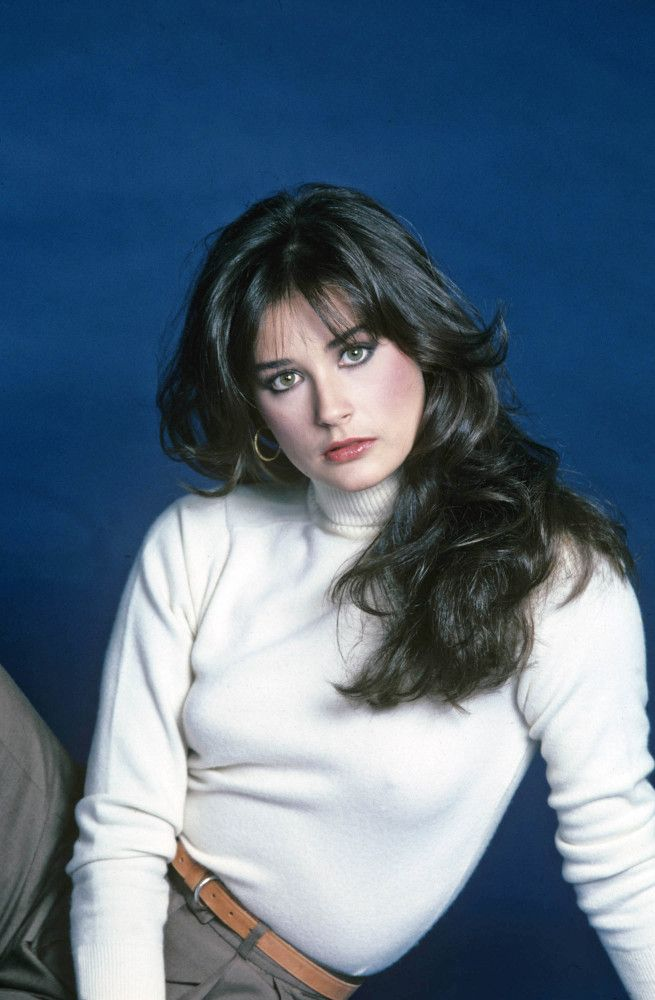 "Demi Moore on ""General Hospital,"" 1981"