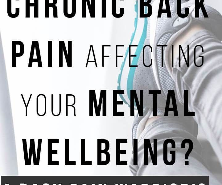 Is chronic back pain affecting your mental wellbeing, causing you stress, anxiety and depression? learn what tools to use to help you not fall into depression | back pain |piriformis syndrome| severe sciatica | ankylosing spondylitis