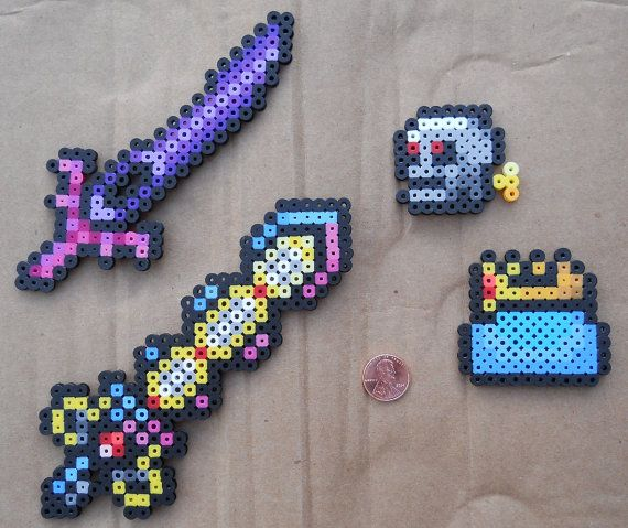 Terraria - Beadcrafts. $1 for the set. Etsy