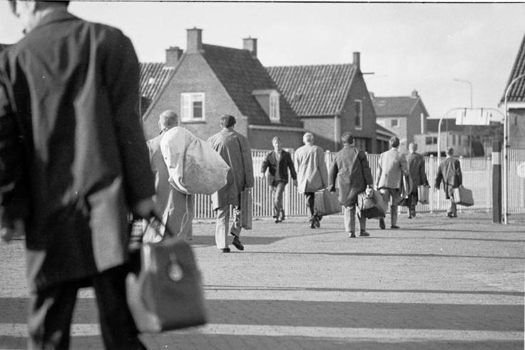 Op vakantie naar Vlieland in 1971