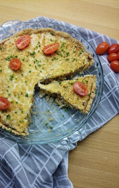 Hapankaalipiirakka - Kaurapohjainen ja hieman terveellisempi versio perinteisestä suolaisesta piirakasta. (Ruokakonttuuri)