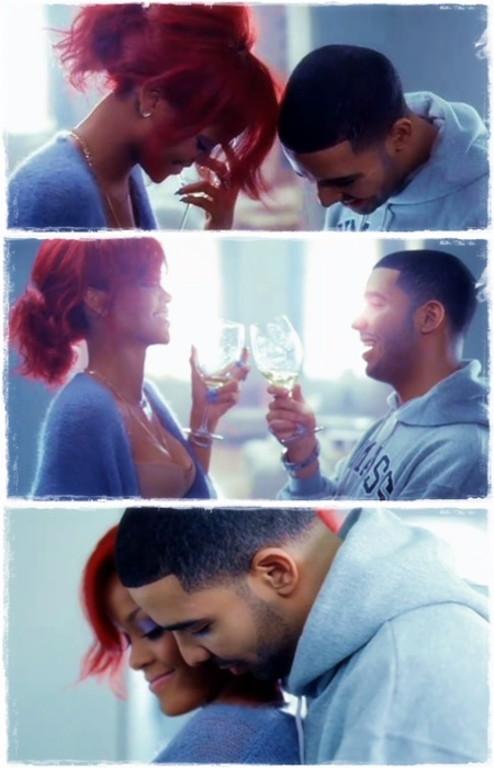 rihanna & Drake - What's my name she looks like a more grown Rih Rih with Drizzay. Make the RiGHT choice Rih Rih.