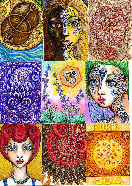 Artist's Trading Cards