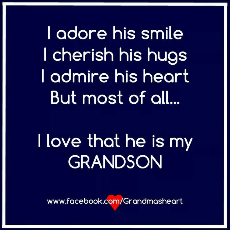 I Wouldn't Trade My Grandson For Any Other! :) Love You Peyton! ♡