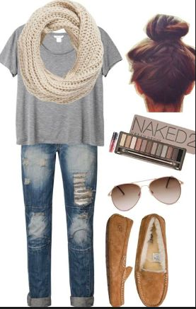 love this for fall but change the shoes to boots
