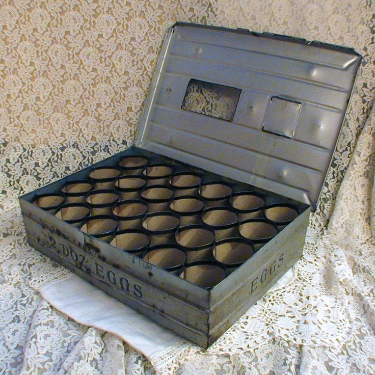 Old Wooden Eggs Egg Carrier Crate Box Handle Lid Vintage ...  |Egg Crate Shelving