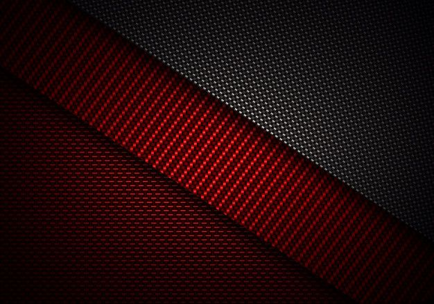 Abstract Red Black Carbon Fiber Textured Material Design In 2021 Red And Black Wallpaper Carbon Fiber Wallpaper Black Wallpaper