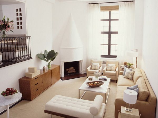 small living room idea.. (furniture placement)