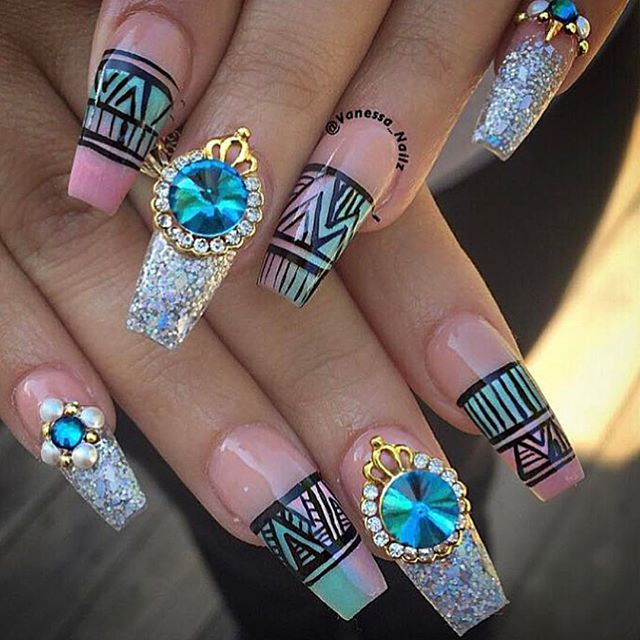 Still love these from a few years ago - Best 25+ Exotic Nails Ideas On Pinterest Exotic Nail Designs