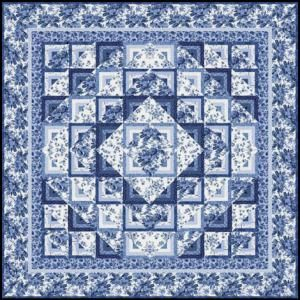 72 best Blue and White Quilts images on Pinterest | White quilts ... : black and white quilt kits - Adamdwight.com