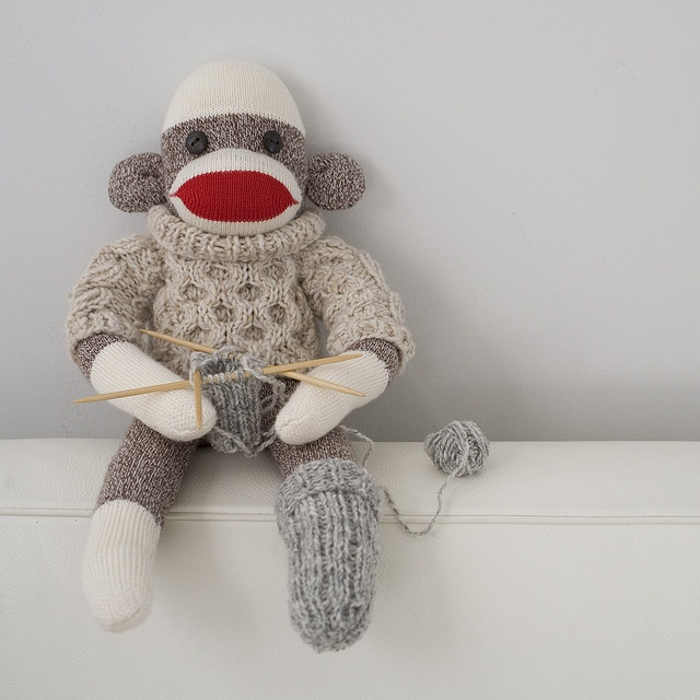 sock sock monkey!: Sock Monkeys, Monkey Business, Socks Monkey, Knittingcrochet Fun, Socks Socks, Knits Monkey, Sockmonkey, Socks Knits, Knits Socks