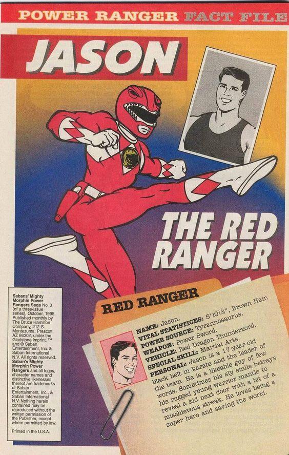 Jason Lee Scott - Mighty Morphin Power Rangers
