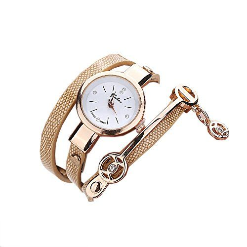 Ularma Damen Armbanduhr Mode Armband Analog Quarz Uhr Golden - http://uhr.haus/ularma/ularma-damen-armbanduhr-mode-armband-analog-uhr
