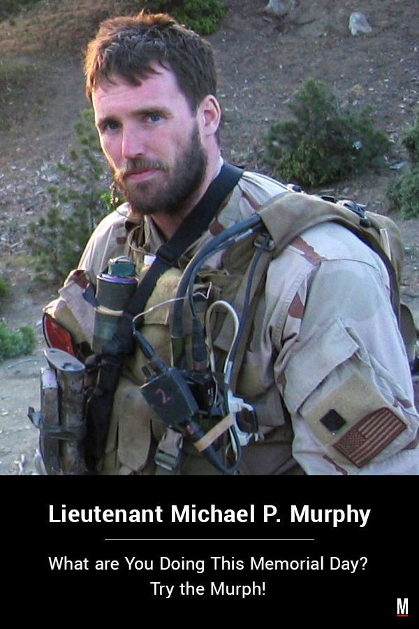 The Murph Is A Workout Used By Navy Seal Medal Of Honor Recipient Michael Murphy Over The Past Decade In Man Navy Seals Navy Seal Workout Military Workout