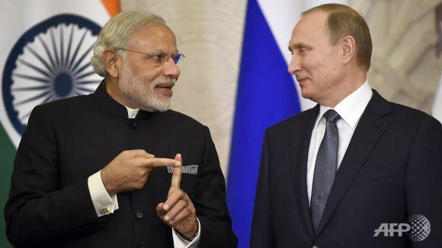 Putin, Modi hail 'partnership' as India eyes defence deals - Channel NewsAsia