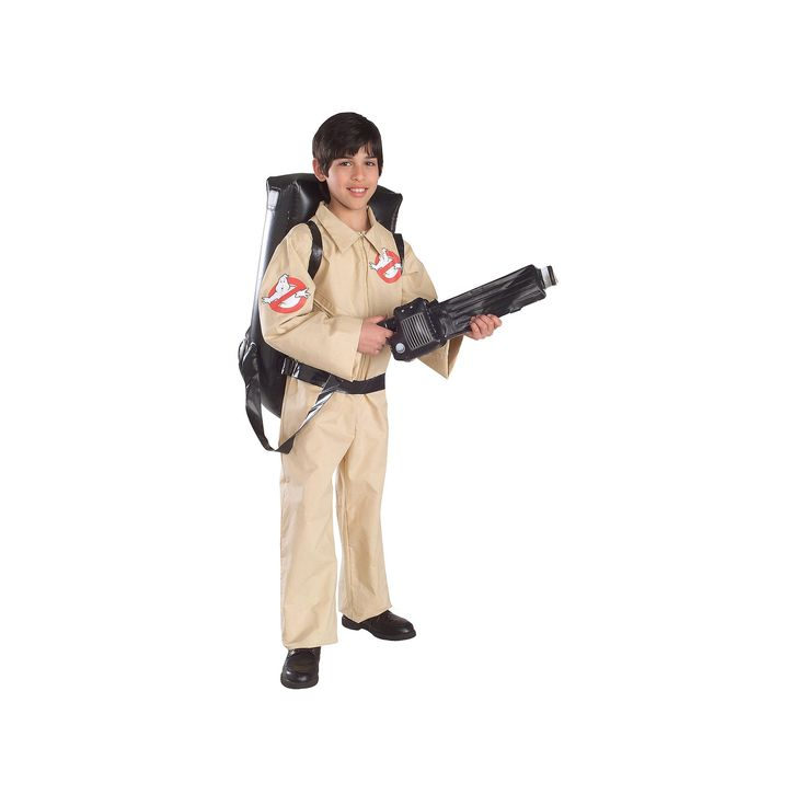 Kids Ghostbuster Costume, Brown