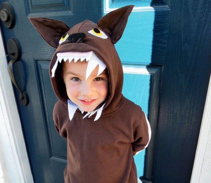14 disfresses infantils creades a partir d'un jersei   tot nens