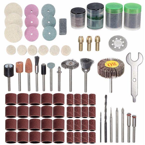 200pcs Rotary Tool Accessories Polishing Kit for Dremel