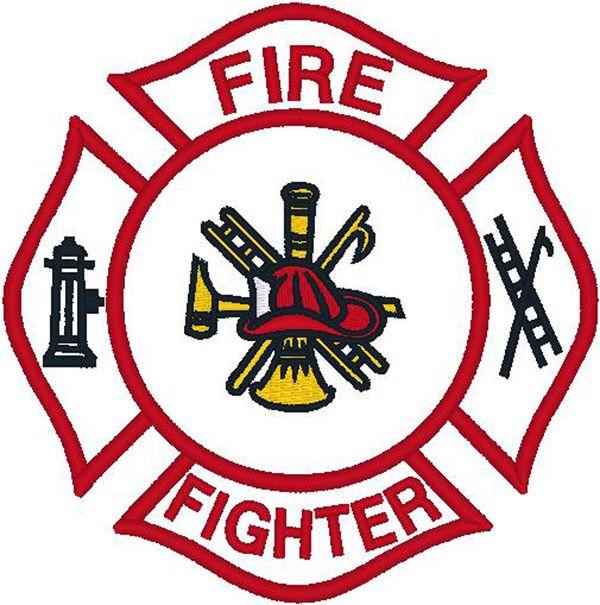 Firefighter Logo Clip Art Firefighter Emblem Clipart