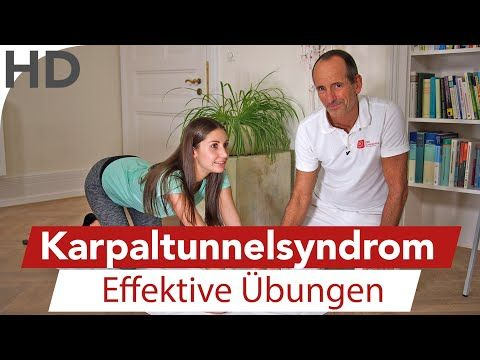 Karpaltunnelsyndrom - Übungen gegen kribbelnde, taube, einschlafende Hände LNB Schmerztherapie