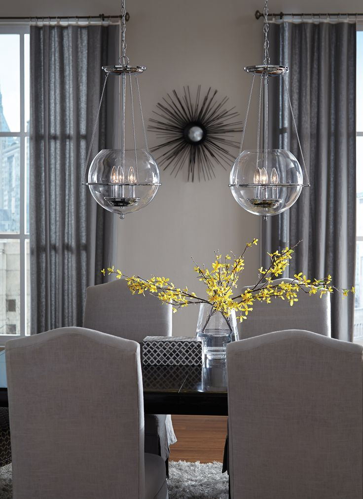 seagull pendant lighting. Glass Pendants Complete This Dining Room. See More Options At Https://aadenlighting Seagull Pendant Lighting