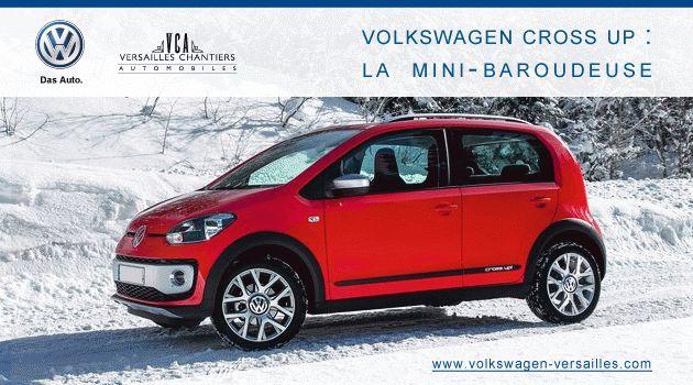 Volkswagen Cross Up : la mini-baroudeuse