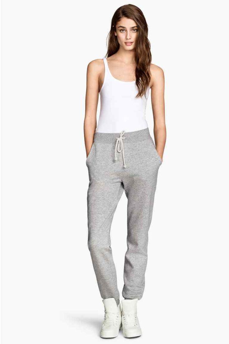 Pantaloni din molton | H&M