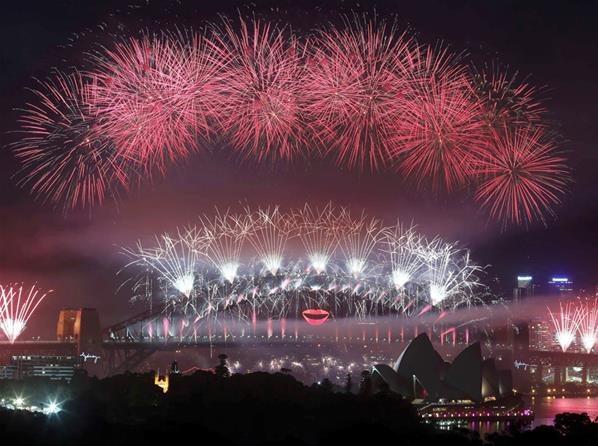 Nouvel An 2013: les plus belles photos (© Baie de Sidney (Australie), le 31/12/12 - Reuters)