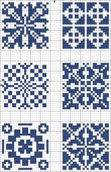 Square | A lot of different patterns/designs to choose from