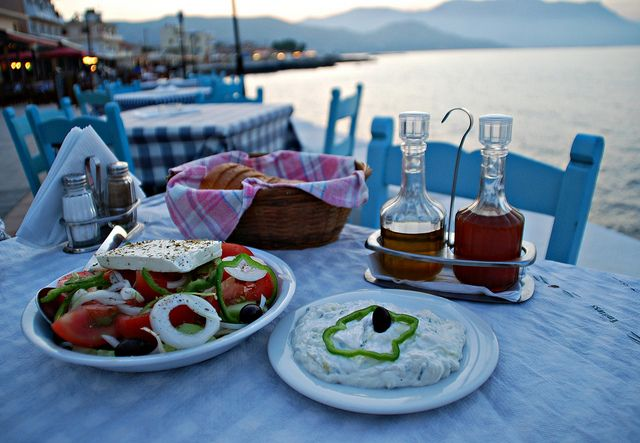 What else ! Greek tavern by the sea