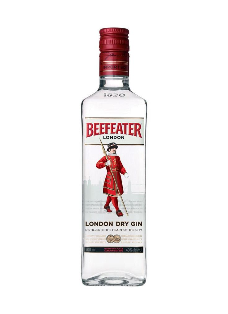 Beefeater London Dry Gin   www.beefeatergin.com